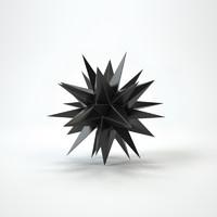 free max model hedgehog decor