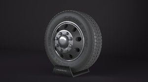 goodyear ultra grip wheel 3d max