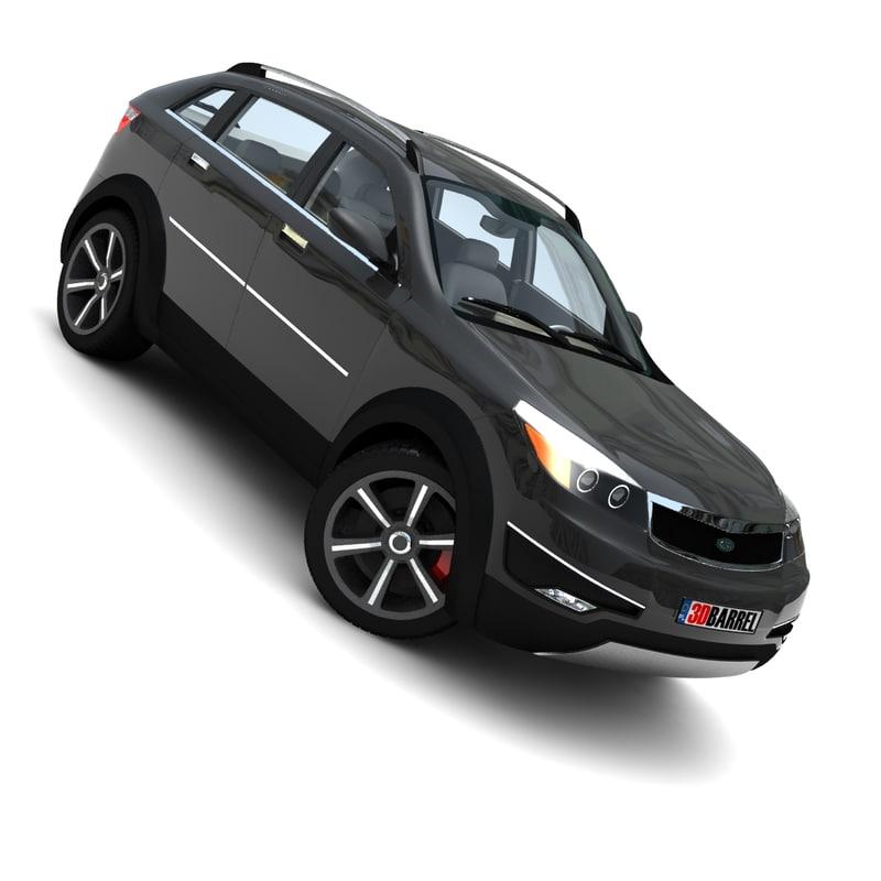 lwo generic car