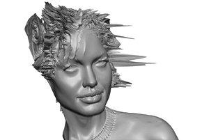 3d model angelina joje