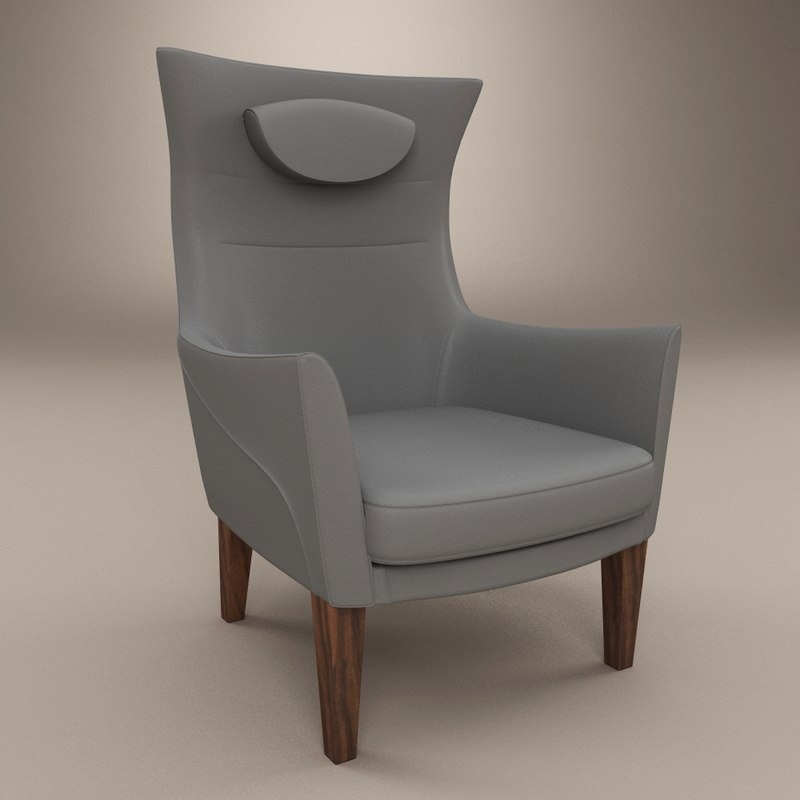 3ds stockholm chair