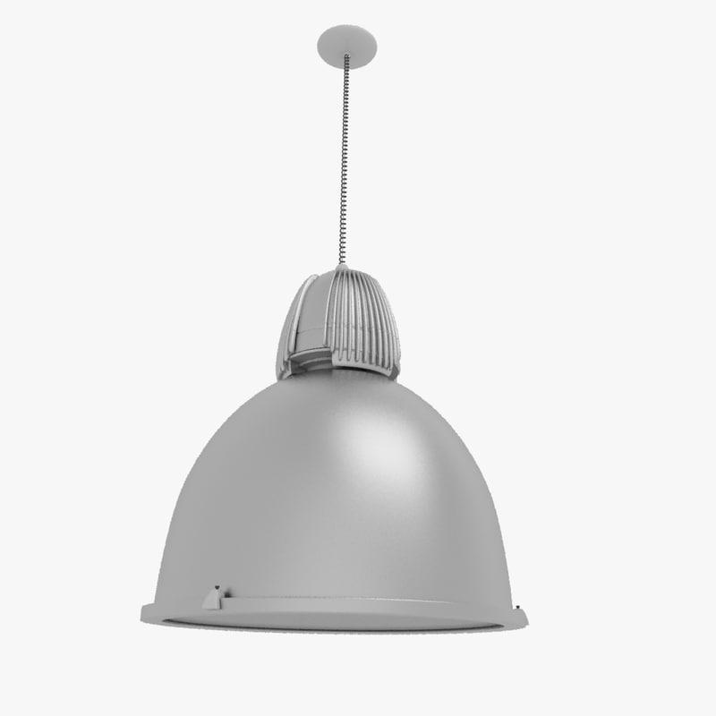 brushed metal lamp 3d max