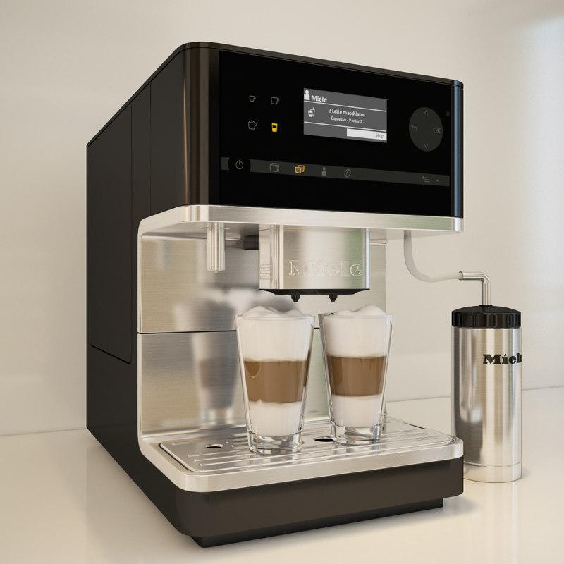 3d miele cm 6300 coffee machine model