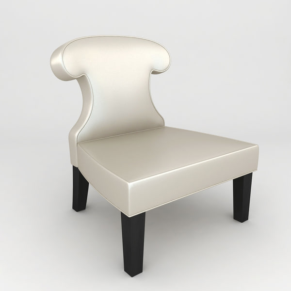 3d sissi chair armchair model