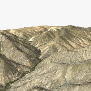 3ds max terrain ready