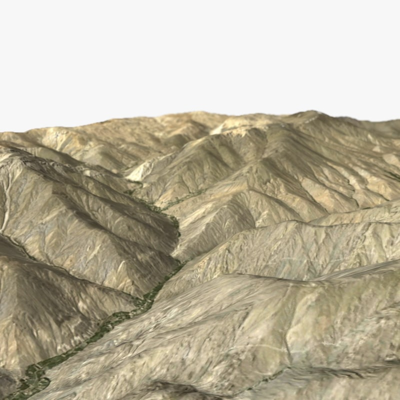 3ds max terrain ready