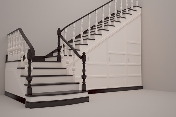 3d stairs classic
