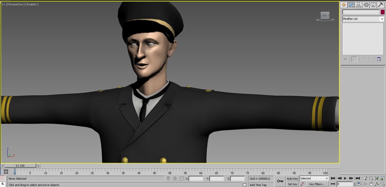 3d mariner ottoman