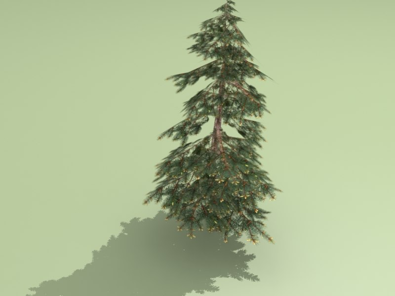 3ds max spruce