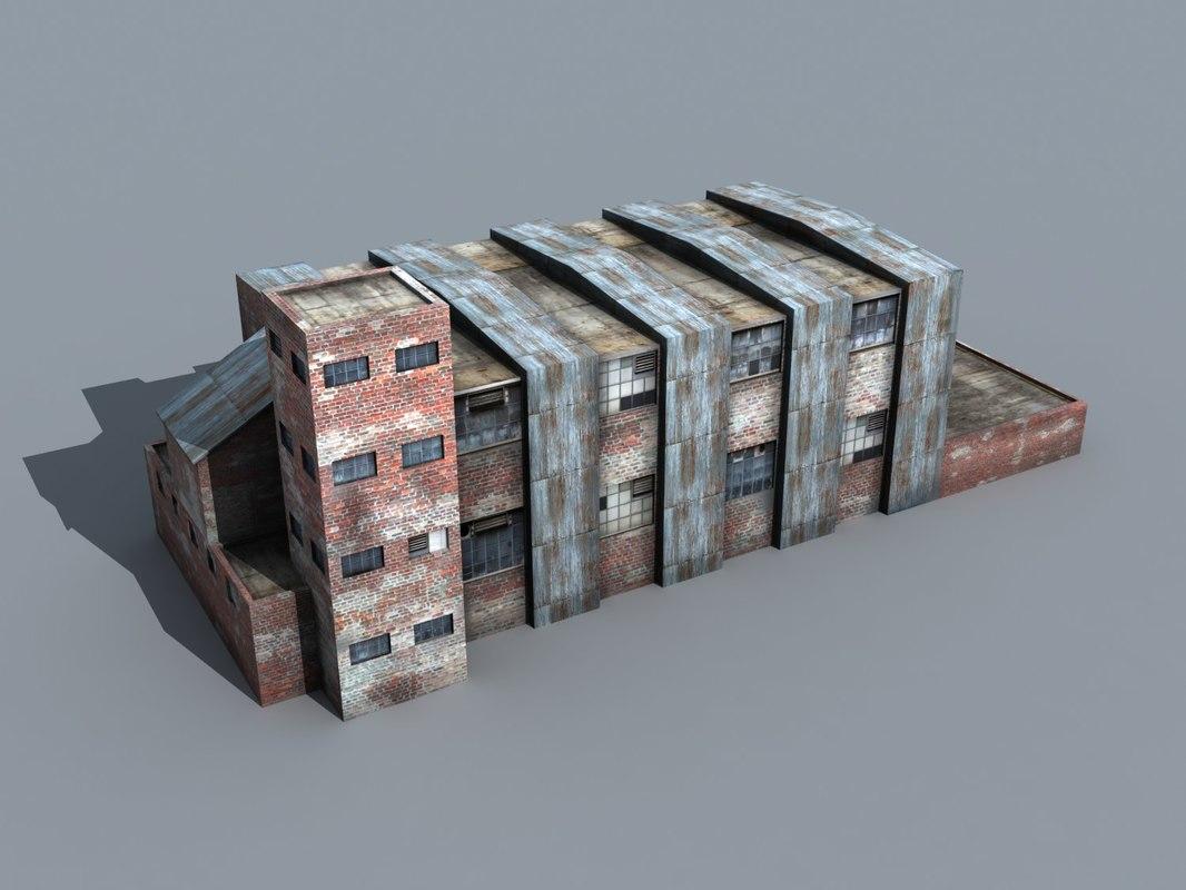 factory 01 3d model
