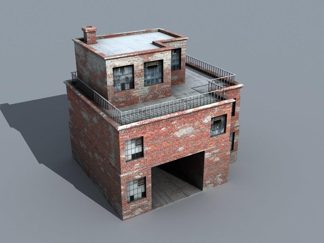 3d building 01