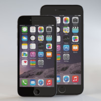 iphone 6 apple 3d model