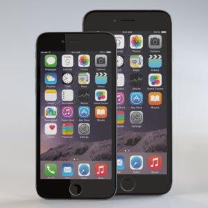 iphone 6 apple 3d model