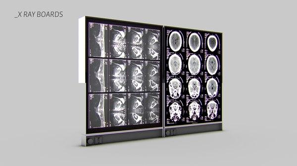 3dsmax x-ray monitor