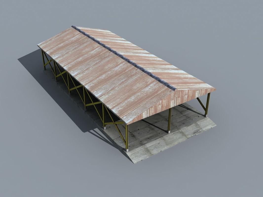 warehouse 02 3d max