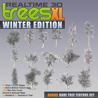 Realtime 3D Trees XL - Winter Edition