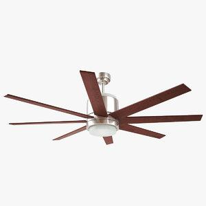 3d monte carlo araya ceiling fan model