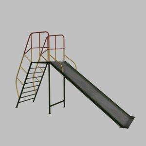 3d model children s slide