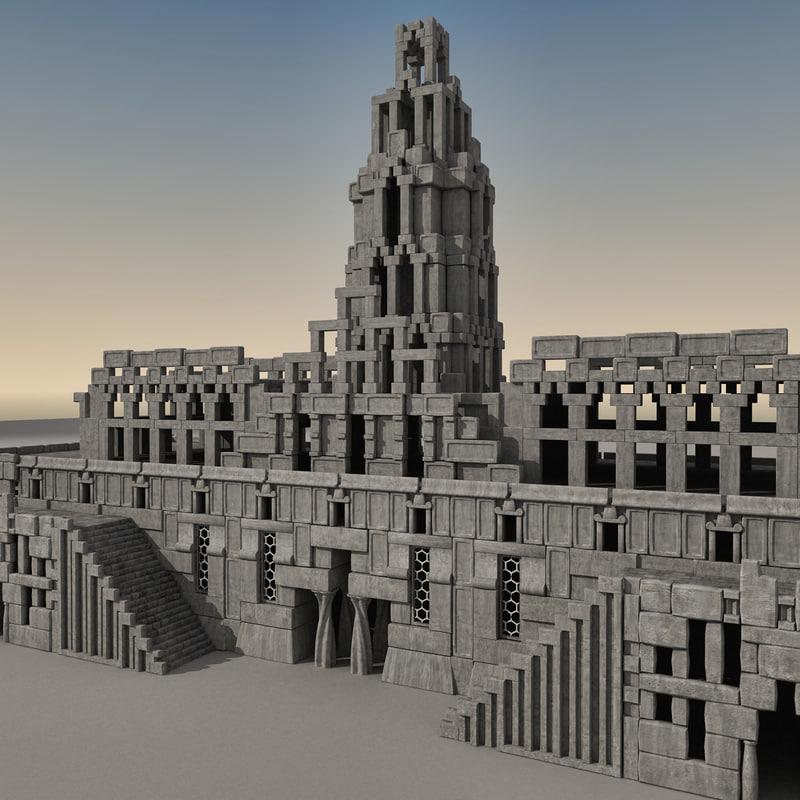 ma ancient fantasy building