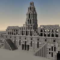 Ancient Fantasy Building 003