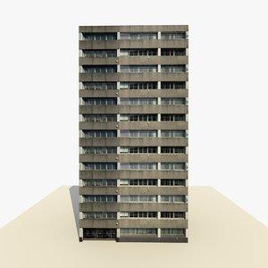 rise 2 building ready 3d model