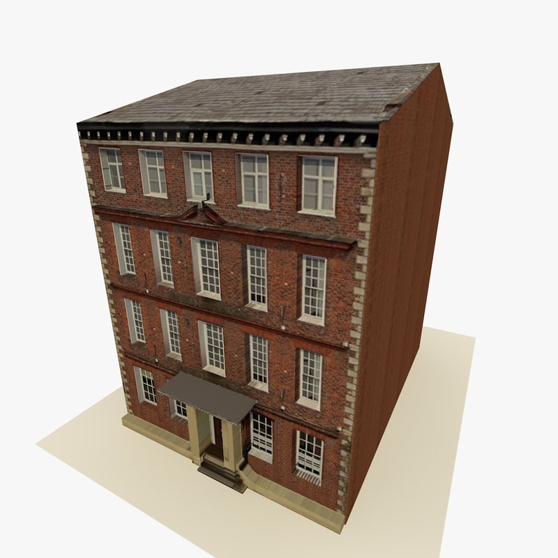 3d model rise 6 building ready