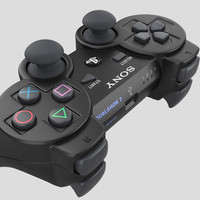 sony 3 ps3 3d obj