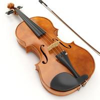 3d violin instrument