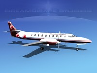 3ds metroliner sa226 airliner swearingen