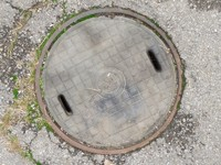 3d model manhole cover 1