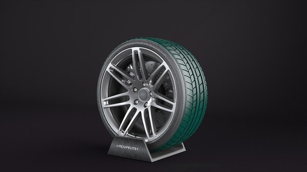 audi wheels bridgestone potenza 3d max