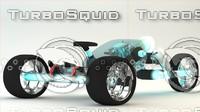 concept motorcycle 3d c4d