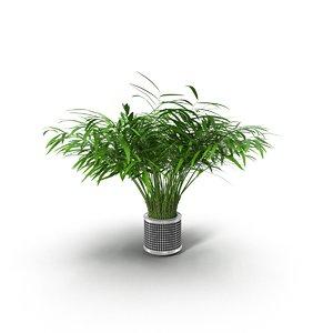 flowerpot ribbed 3d max