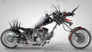 c4d bike dragon