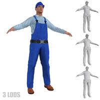 max worker lod s man