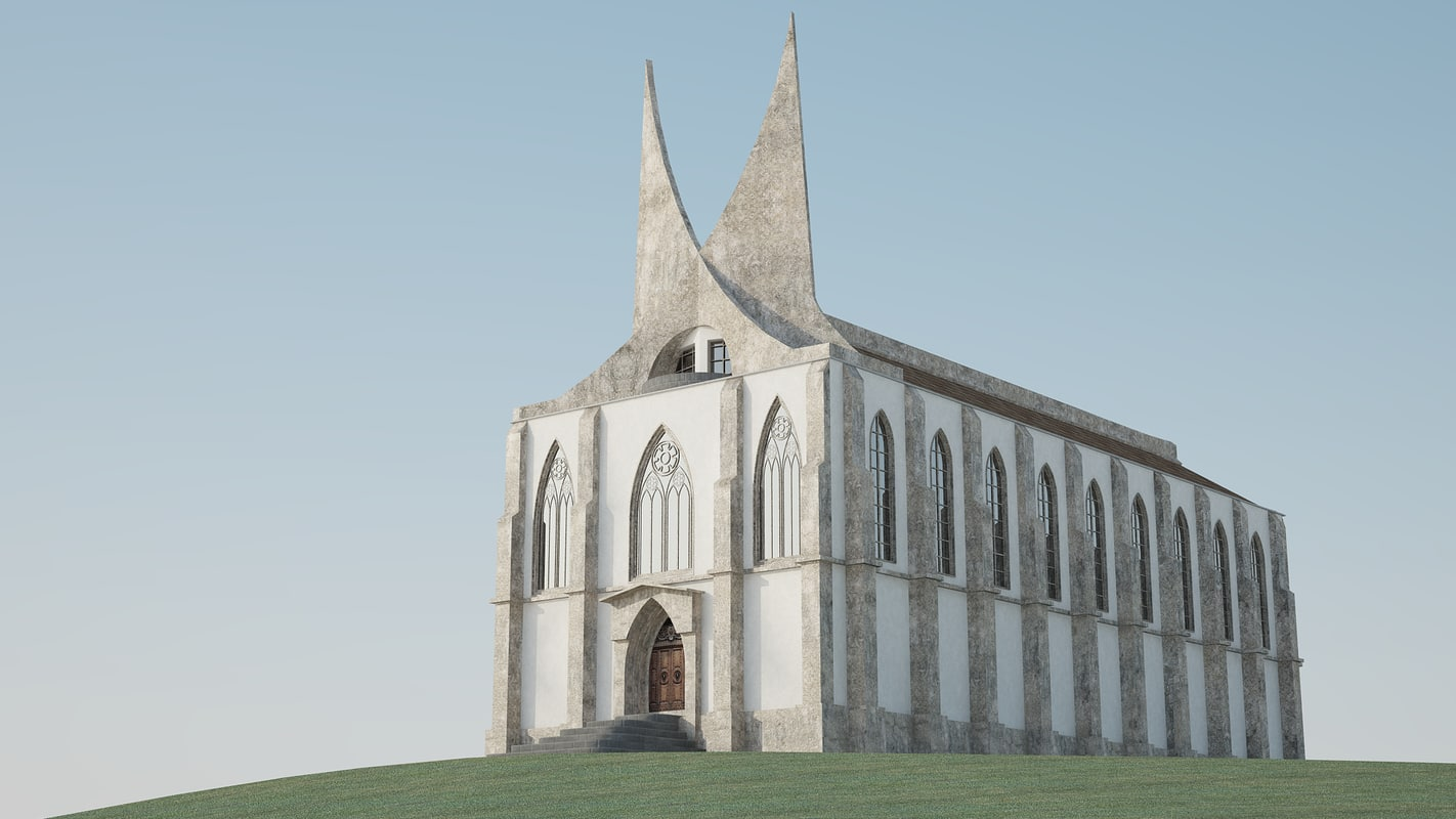 c4d medieval fantasy palace