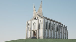 c4d medieval fantasy palace