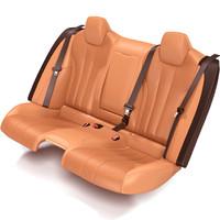 3d car rear seat