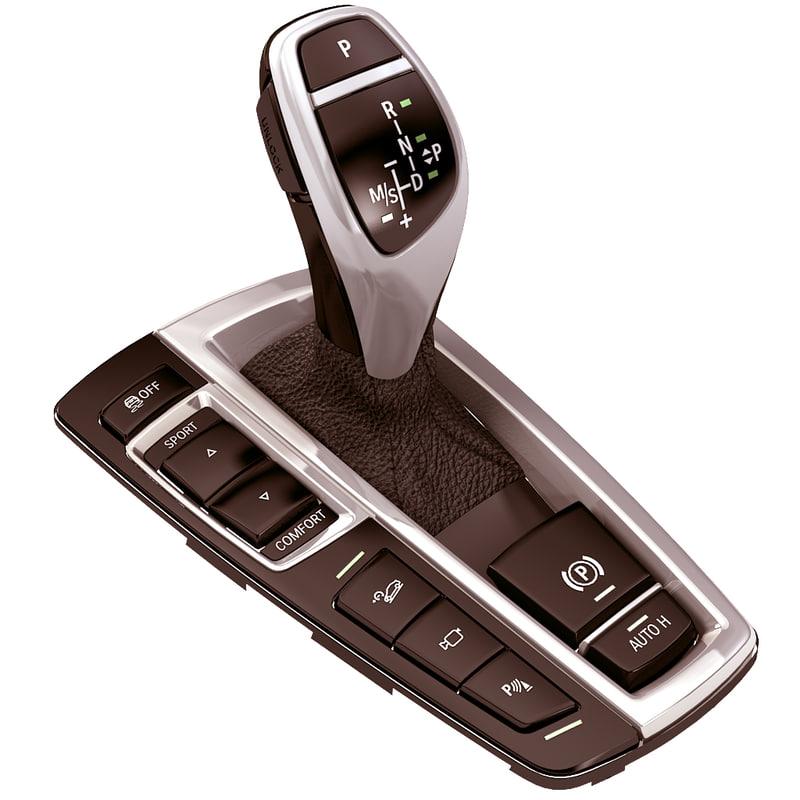 3d gear gearshift shift