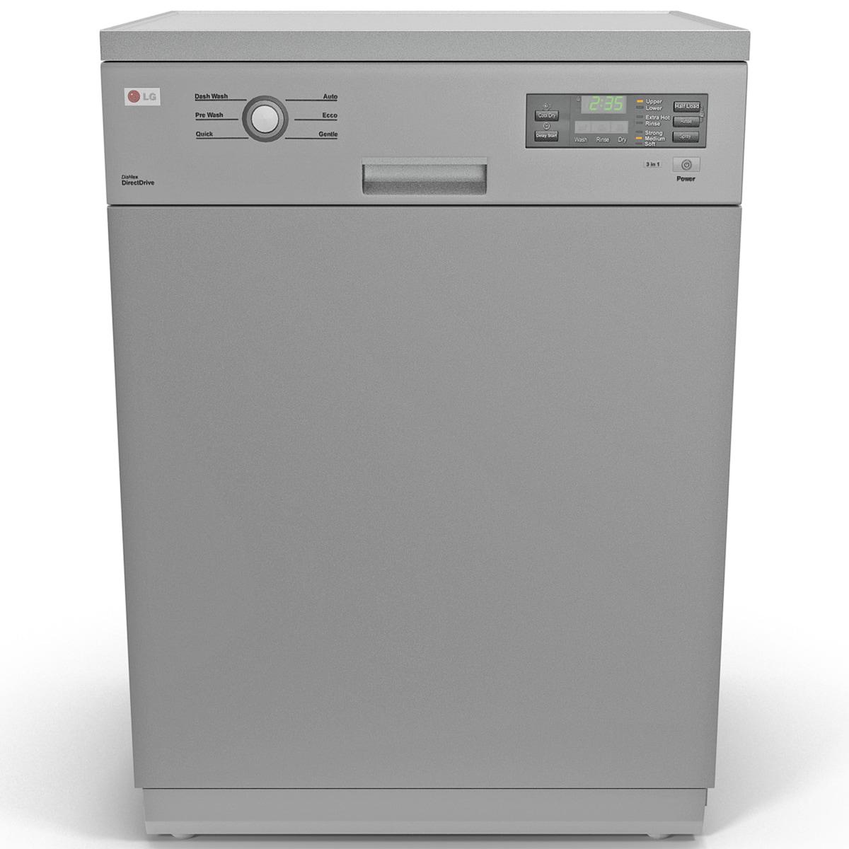 lg dishwasher 2 3d 3ds