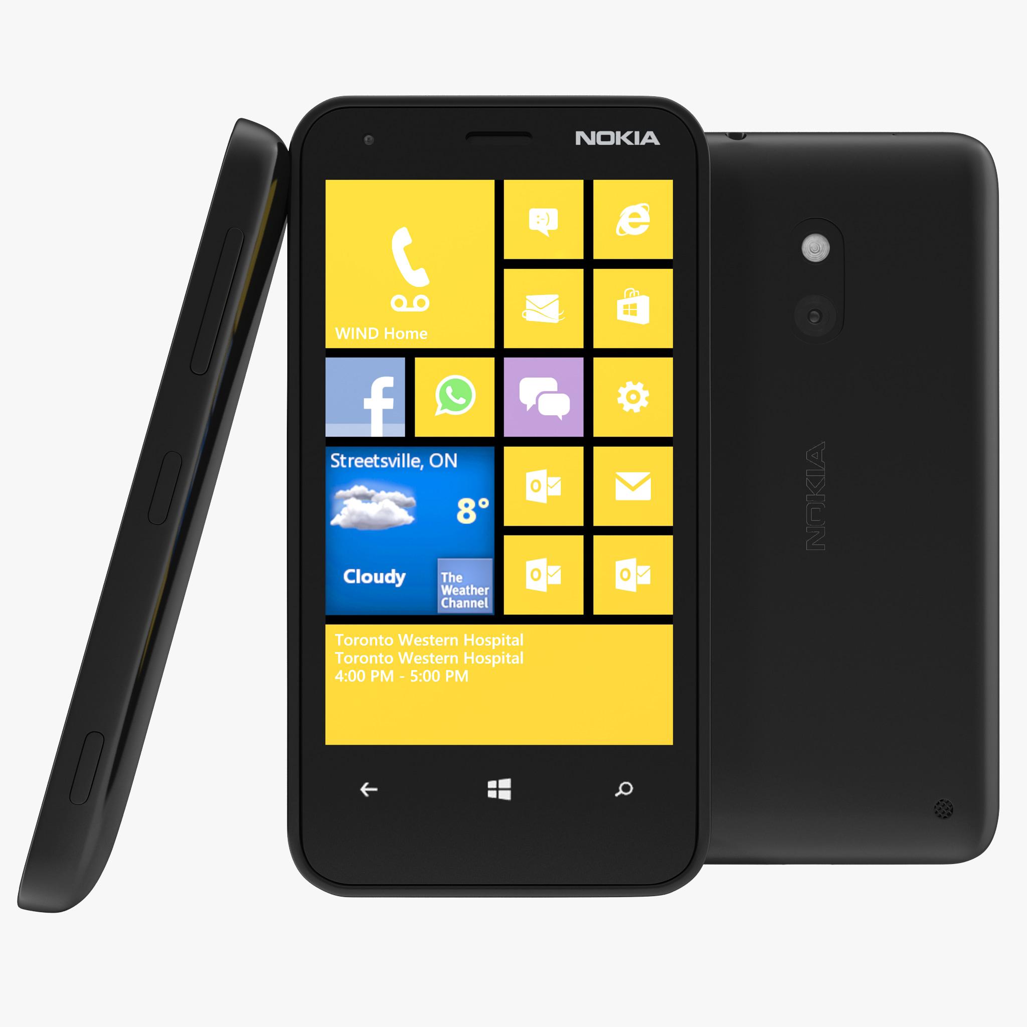nokia lumia 620 black 3ds