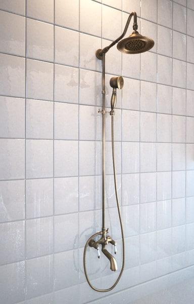 definition optimized bathroom 3d model