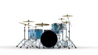 drum cymbals 3d 3ds