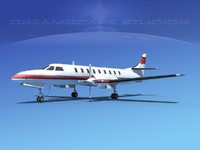 metroliner corporate sa226 swearingen 3d max