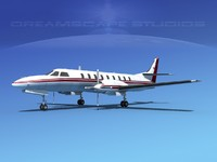 3d metroliner corporate sa226 swearingen
