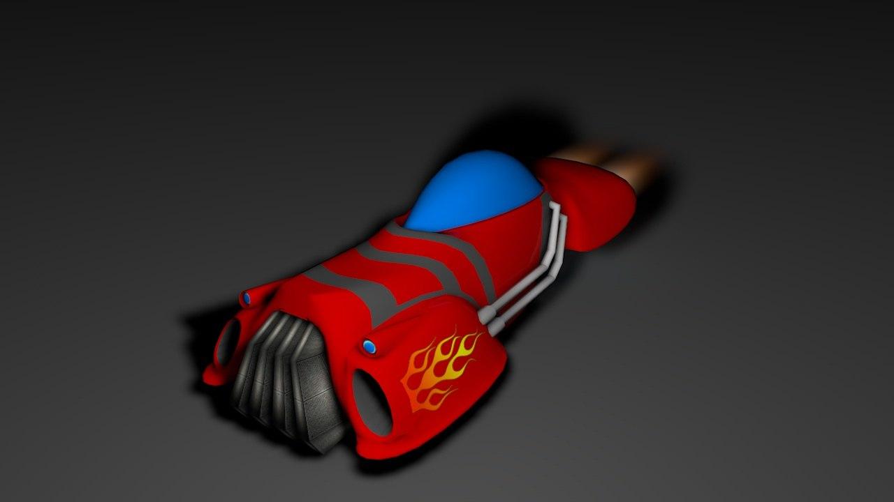 car space 3d model