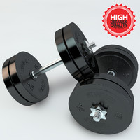 3d model small weight bar