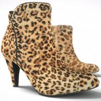 3d model leopard heels