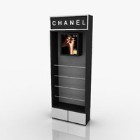 stand chanel 3d max