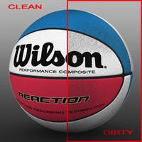 3d basket ball color
